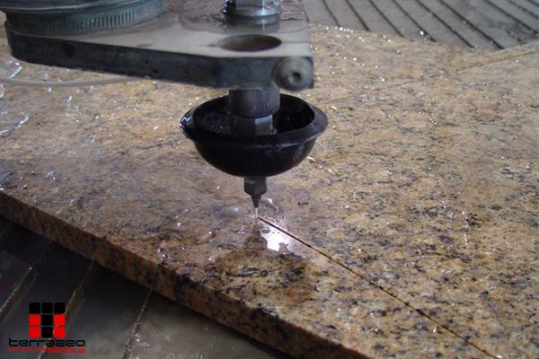 Complex Terrazzo Flooring Designs Made Simpler through Waterjet Technology