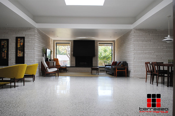 Enhance and Complement Your Living Space Design with Terrazzo Floors