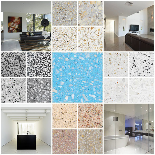 Terrazzo Is A Hygienic Flooring Material For Bathrooms
