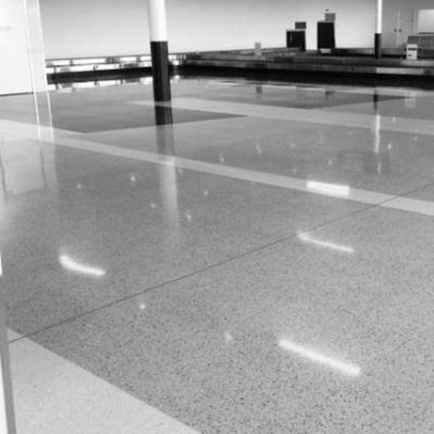 Terrazzo Tiles: Tough as can be for high foot traffic areas