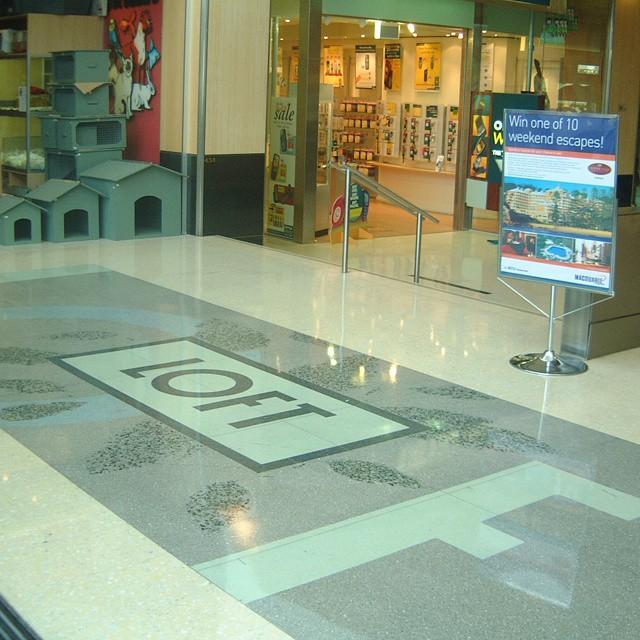 Creating Grand Lobbies Shopping Mall Flooring Terrazzo